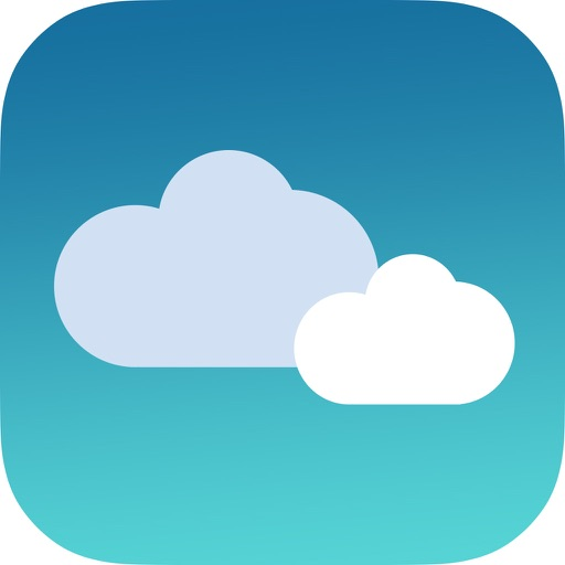 iWea Pro for weatherforcast, automatic positioning iOS App