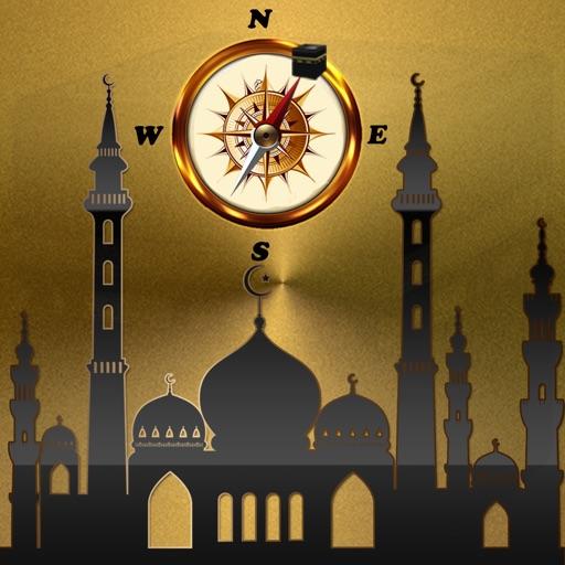 Qibla Compass : Namaz Timing Near Majsid Pro