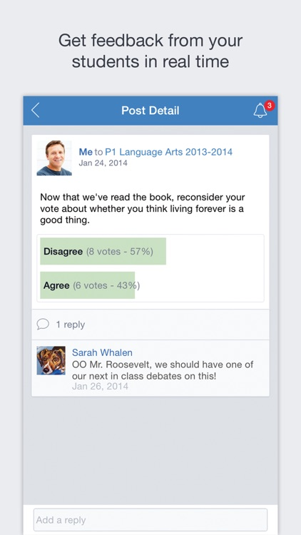 Edmodo screenshot-1