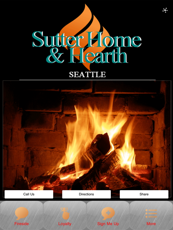 Screenshot 1 For Sutter Home Hearth
