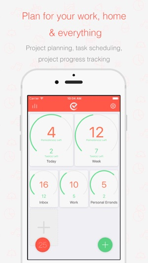 Tomatodo - Focus Timer & To-Do List Screenshot