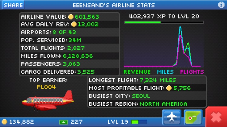 Pocket Planes - Airline Management screenshot-4