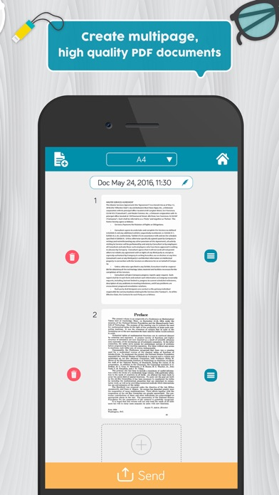 Easy Scanner Pro: PDF scanner app to scan document screenshot three