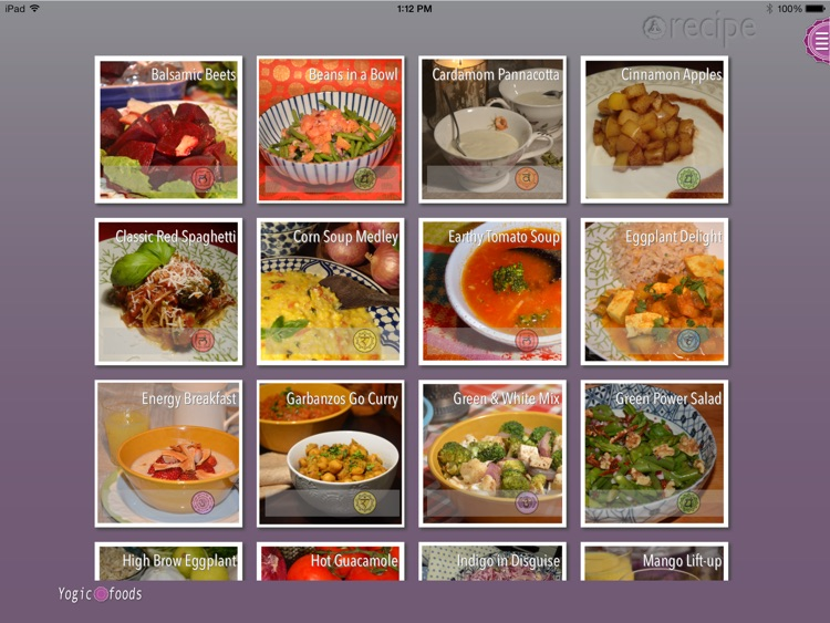 Yogicfoods - Vegetarian and vegan recipes screenshot-1