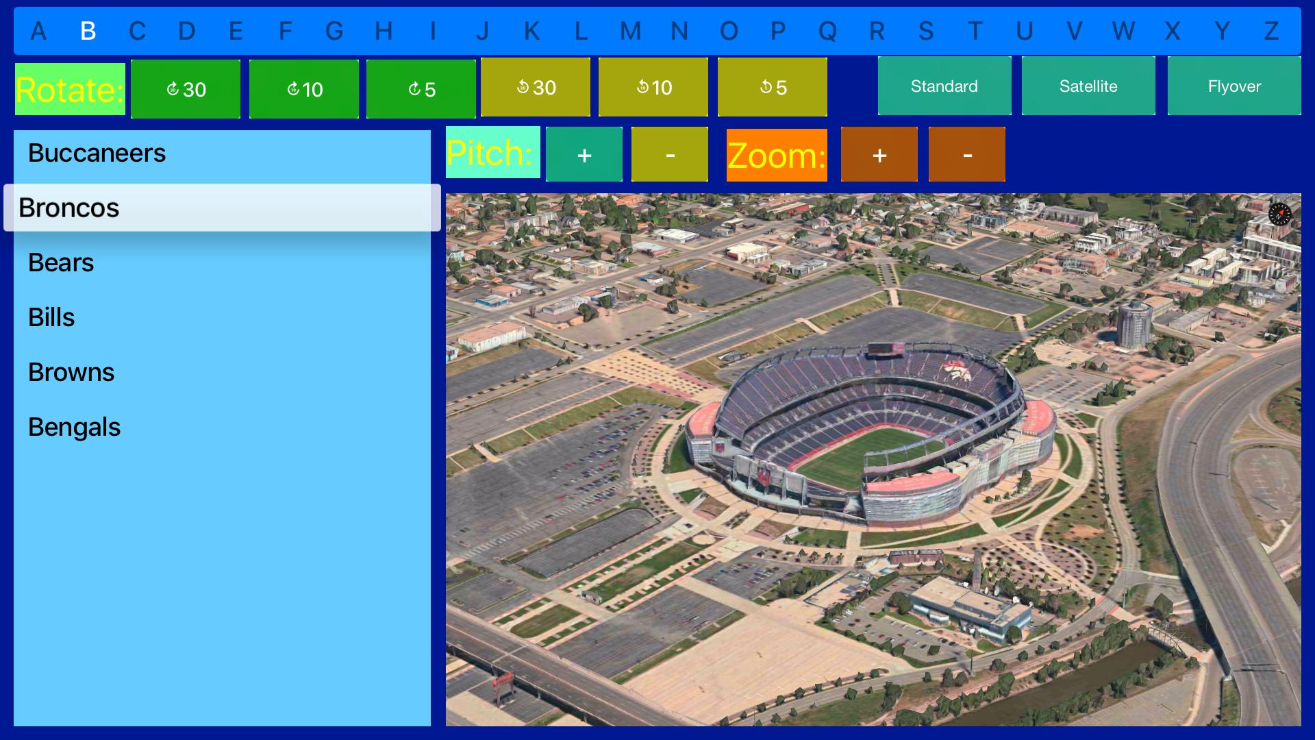 Sport Stadiums Pro - 3D Cities screenshot 21