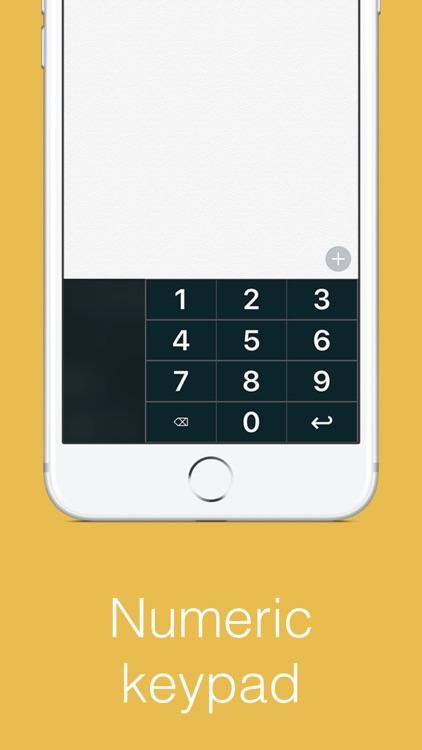 Big Keys: Large Keyboard & Emoji QWERTY Magnifier screenshot-3