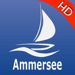 Ammer lake GPS nautical charts Pro