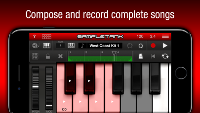 Screenshot #3 pour SampleTank CS