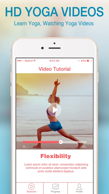 Yoga For Beginners.: Meditation And Relaxation App
