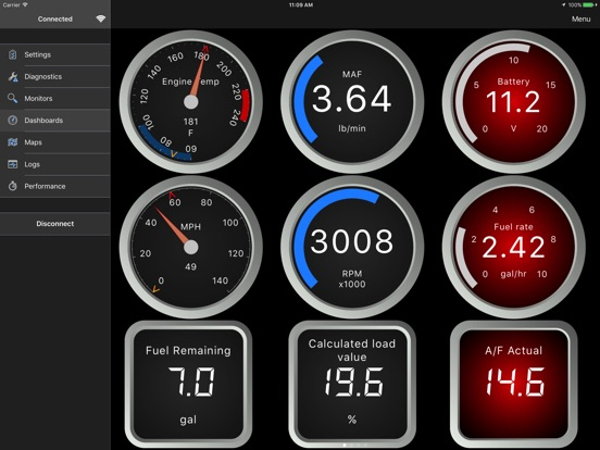 OBD Fusion Screenshots
