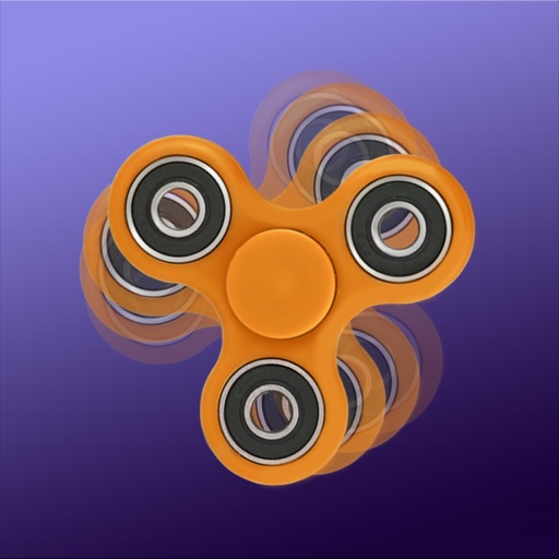 Fidget Hand Spinner 2D-Colorful Attention Seeker