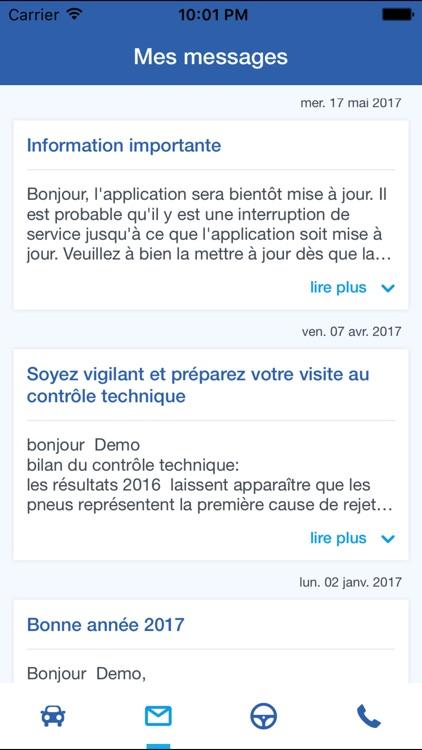 L'appli driver screenshot-3
