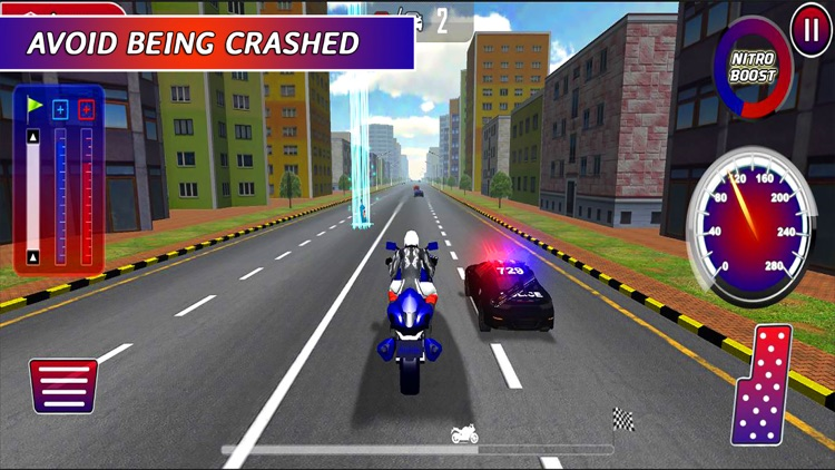 Highway Motorbike Rider: The Hot Pursuit screenshot-3