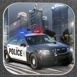 ` 3D Police Pursuit Racing car highway