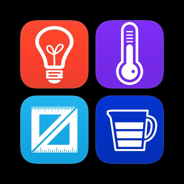 Einheitenumrechner - Umrechnung von Einheiten im App Store