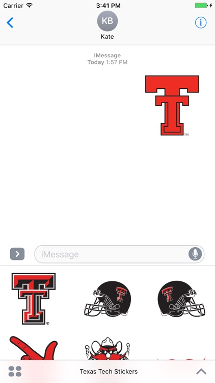 Texas Tech Stickers
