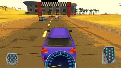 Offroad Monster Jeep Desert Racing Game 3D screenshot one