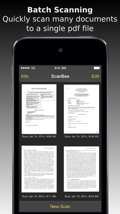 ScanBee - Scanner & copier to digitize your papers Screenshot
