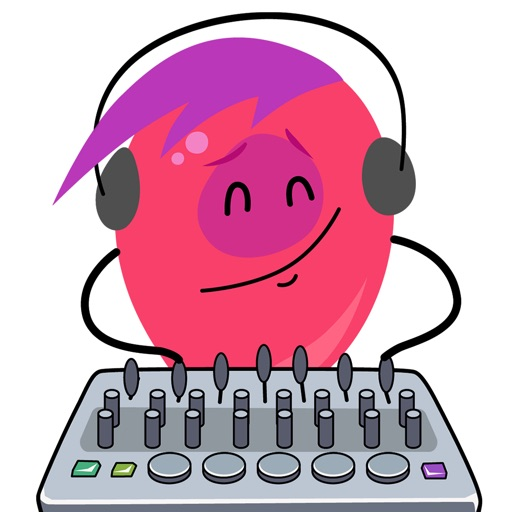 Beat Heads - animated stickers for producers iOS App