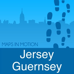 Jersey and Guernsey : Offline Map