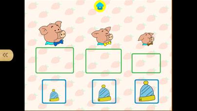宝宝最爱的数学思维脑力游戏-幼儿学排序 screenshot two