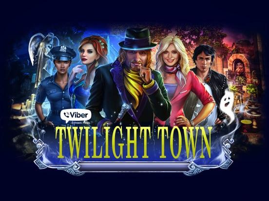 Viber Twilight Town на iPad