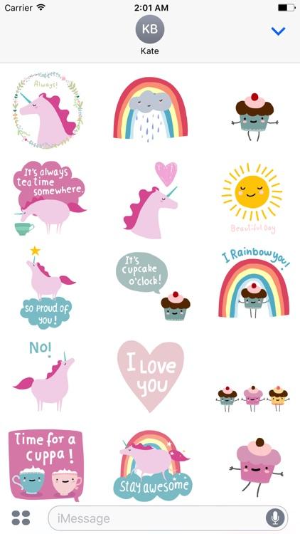 Cupcakes and Unicorns