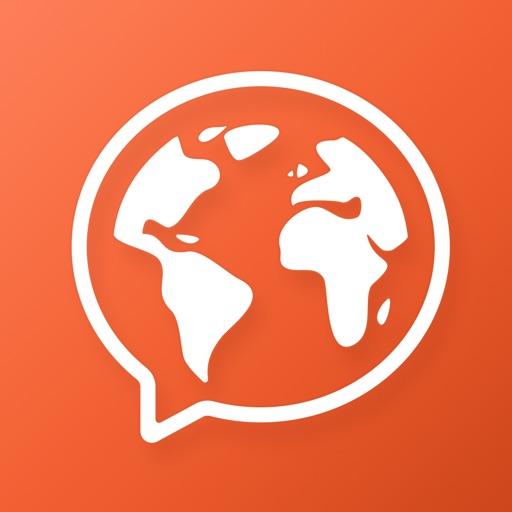 Mondly: Learn 33 Languages: Spanish English French app logo