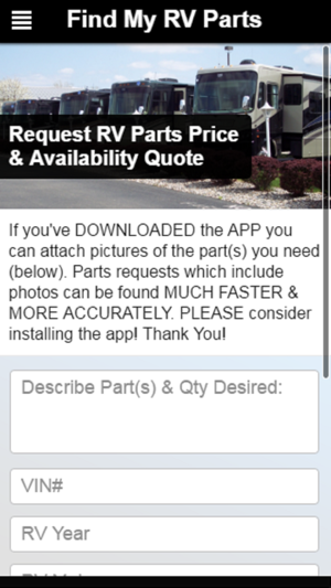 RV Parts: Find My RV Parts on the App Store