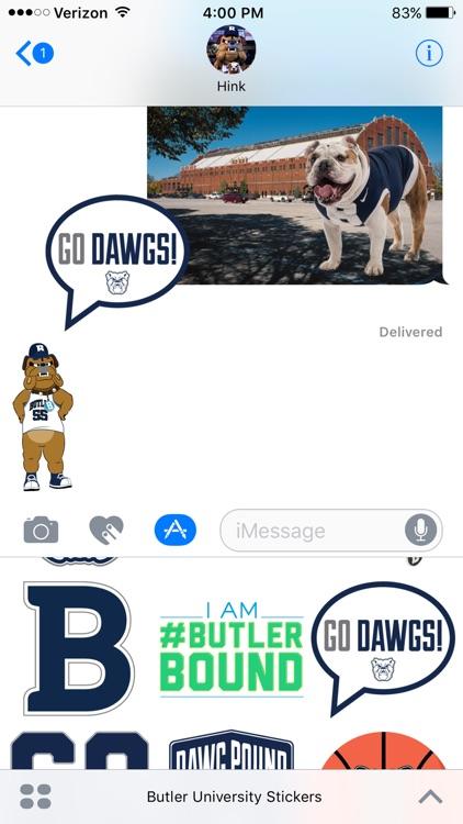Butler University Stickers screenshot-4