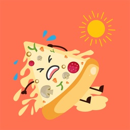 Animated FUNNy PIZZa Stickers