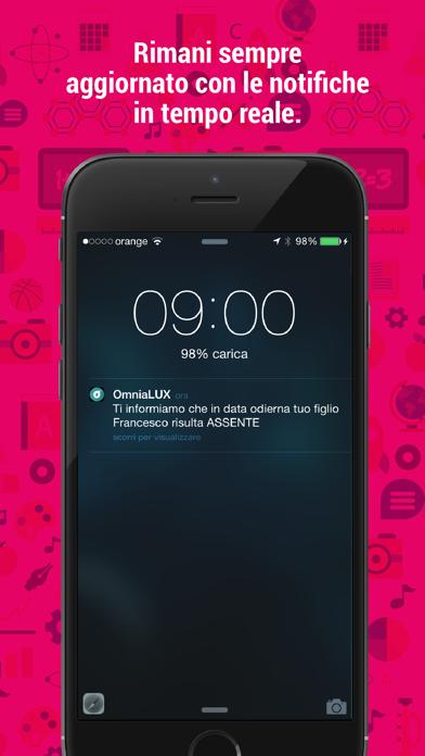 Screenshot of OmniaLUX: scuola in un click3
