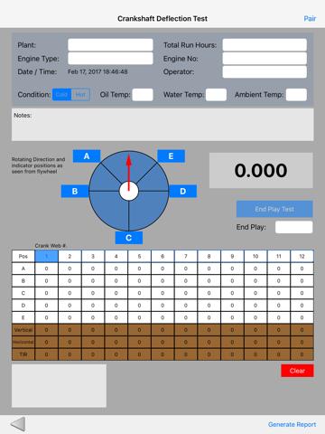 Crankshaft Deflection Test - náhled