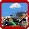 Police Car Repair Mechanic Garage: Service Station