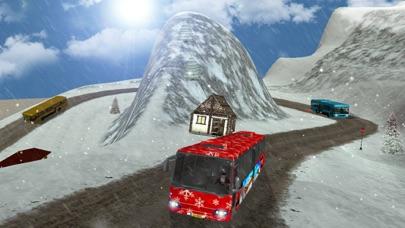 圣诞晚会巴士模拟3 d 旅游滑雪胜地 App 截图