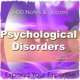 Psychological Disorders Exam Review 3400Q&A