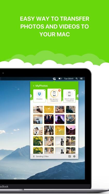 Photo Transfer WiFi - Send Photos and Videos