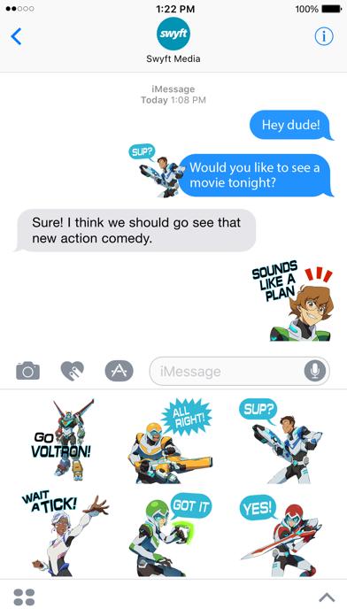 Voltron Stickers screenshot 5