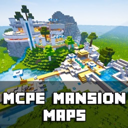 MANSION MCPE MAPS FOR MINECRAFT PE GAMES