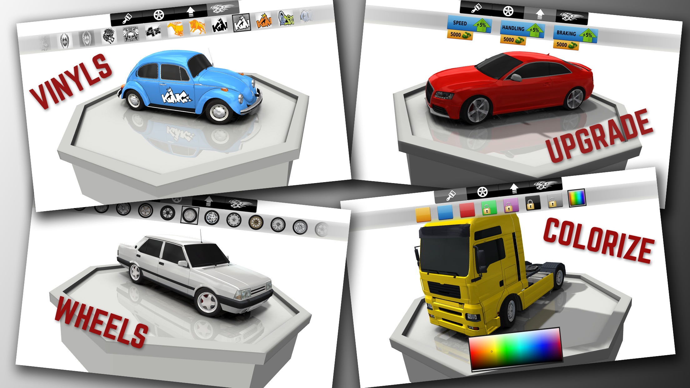 Screenshot do app Traffic Racer