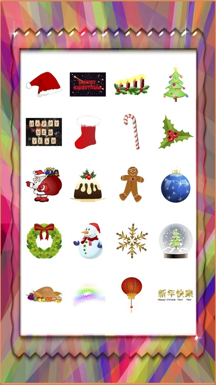 Merry Christmas & Happy New Year Sticker Pack