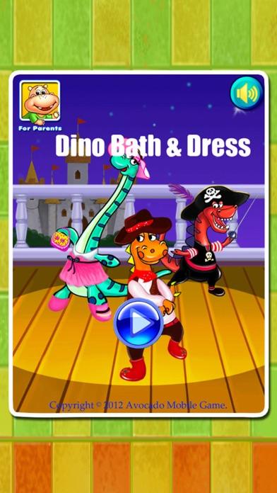 Dino Bath & Dress Up- Potty training app for kids-4
