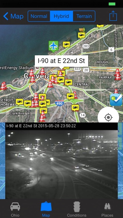 I-90 Road Conditions and Traffic Cameras Pro screenshot-3