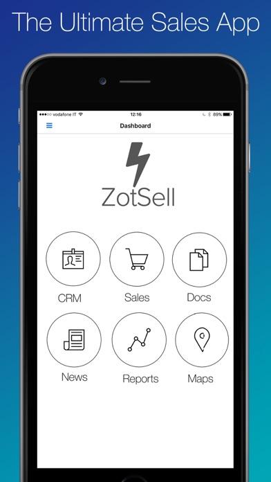 Zotsell 食品銷售軟件  訂單輸入  CRM  食品銷售目錄屏幕截圖1