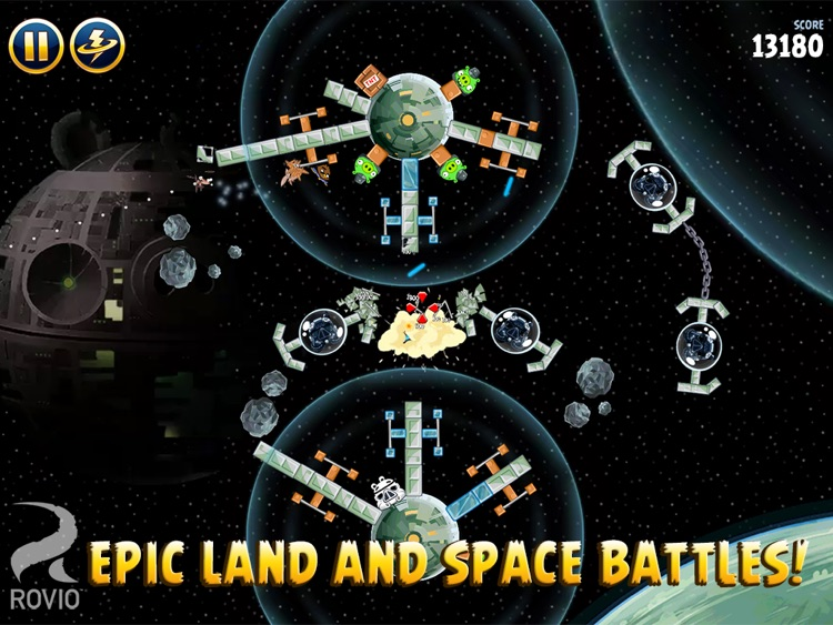 Angry Birds Star Wars HD screenshot-3