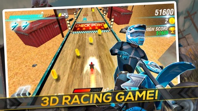 Motocross Trial Racing 3D app image