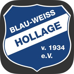 Blau-Weiss-Hollage
