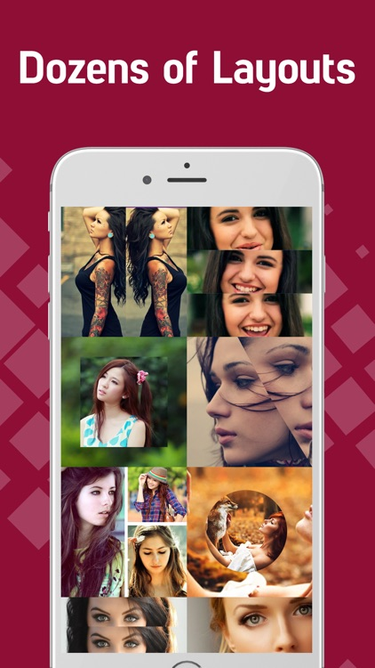 Pic Easy Collage - Picture Frames, Layout Maker app image