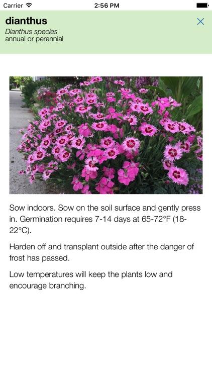Skippys Flower and Herb Planting Calendar screenshot-4