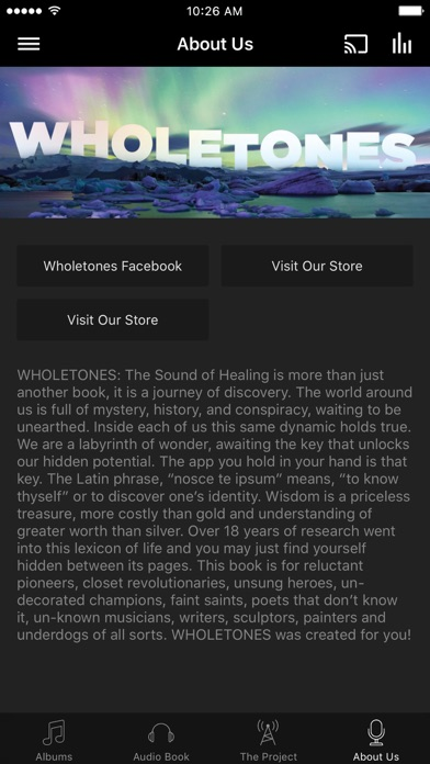 The Wholetones Project screenshot 3